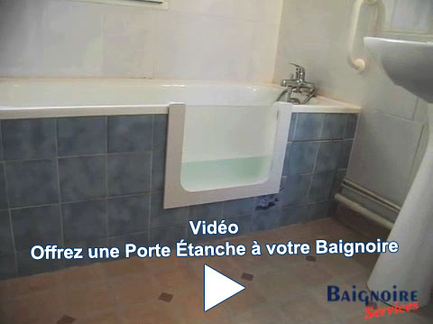 ajoutez une porte votre baignoire pour transformer votre baignoire en baignoire porte. Black Bedroom Furniture Sets. Home Design Ideas
